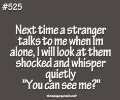 Stranger Talk